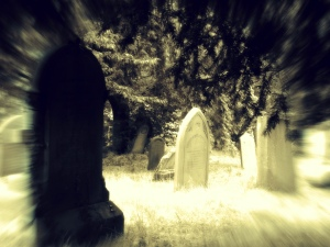 haunted look